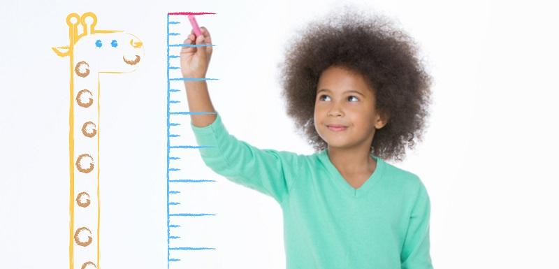 Les courbes de croissance des enfants actualisées grâce au big data