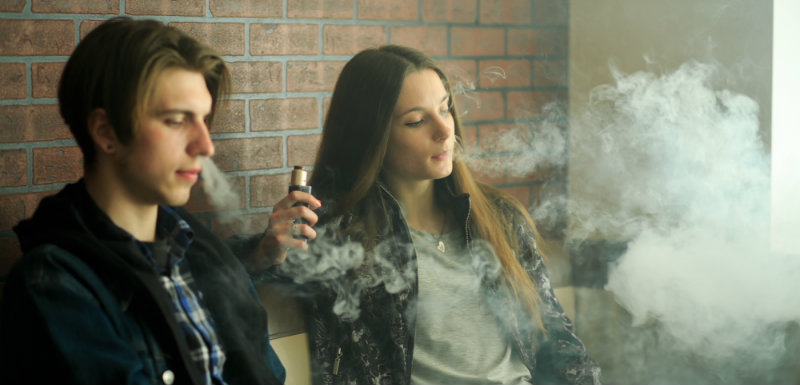 L'influence de l'e-cigarette sur le tabagisme des jeunes