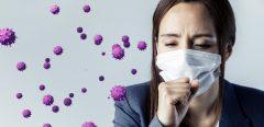 Des expectorations et des selles infectées par le SARS-CoV-2