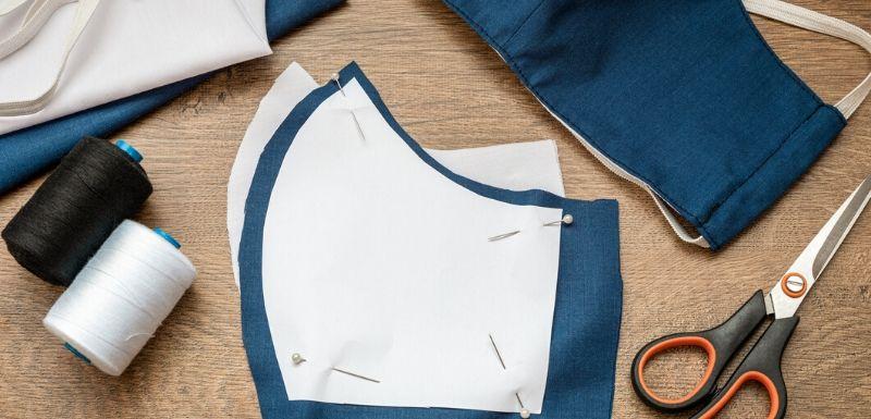 Epidémie de Covid-19 :  Masques recyclés ou en tissu : quelle efficacité ?