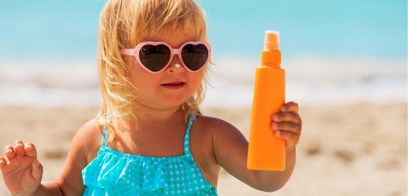 Produits solaires pour enfants : Une composition inquiétante ?