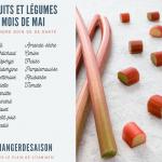Découvrez la liste des fruits et légumes à consommer pendant le mois de mai