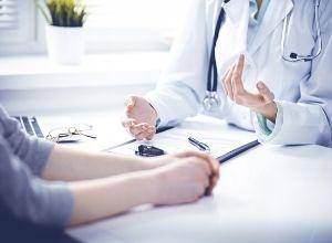 patient avec un docteur