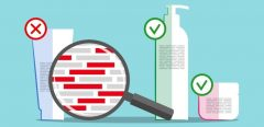 Des produits cosmétiques recalés par le Cosméto'Score