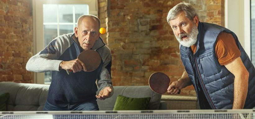 Le ping-pong face à la maladie d'Alzheimer