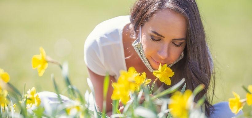 COVID-19:Dans les secrets de la perte de l'odorat