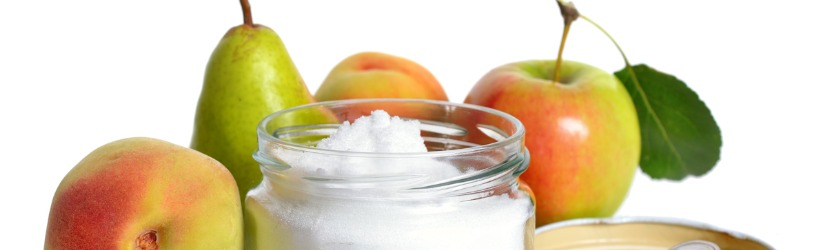 des fruits et du sucre