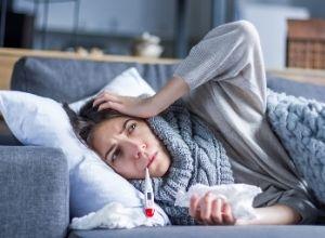 femme atteinte d'une lymphopénie