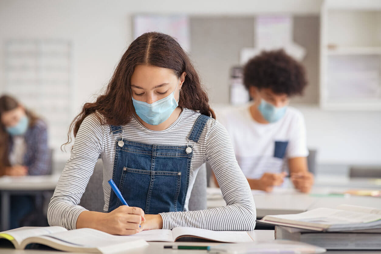 Le stress des examens en période de covid