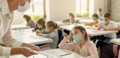 Port du masque à l'école : quelle efficacité contre la Covid-19 ?