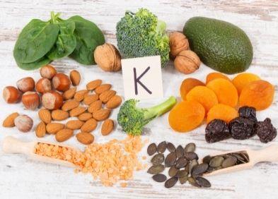 aliments - Carence en vitamine K